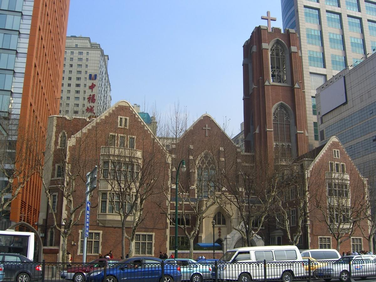 Picture source:Christians in China; The Moore Memorial Church - 316 Middle Xizang Road