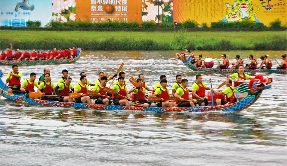 Picture source:Vision Times - Dragon Boat Festival in Taiwan