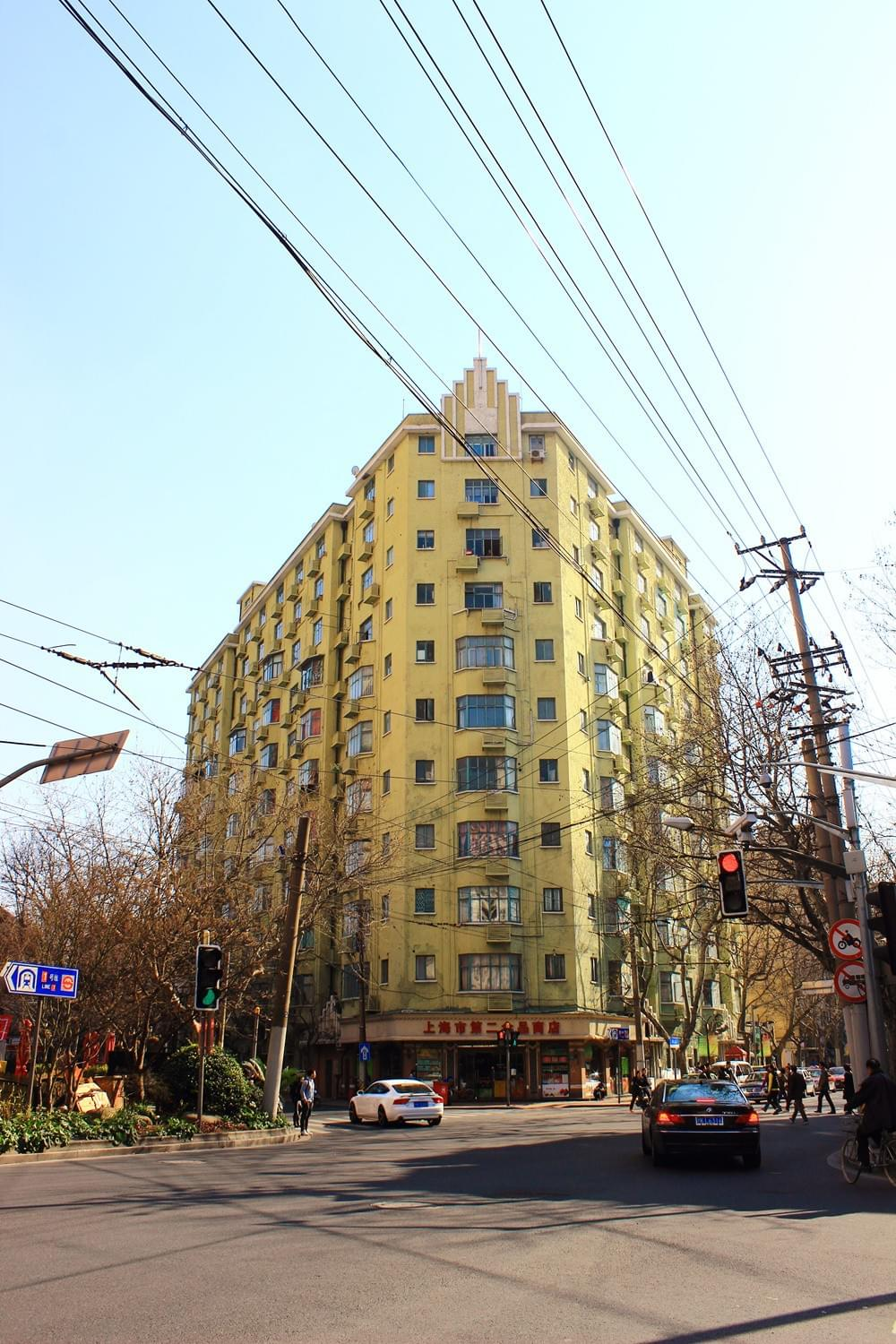 Picture source:commons.wikimedia.org; The Washington Apartments in 301-305 Hengshan Road
