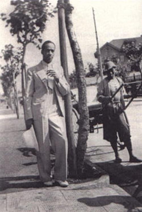 Picture source: picssr; Buck Clayton in Shanghai in 1934