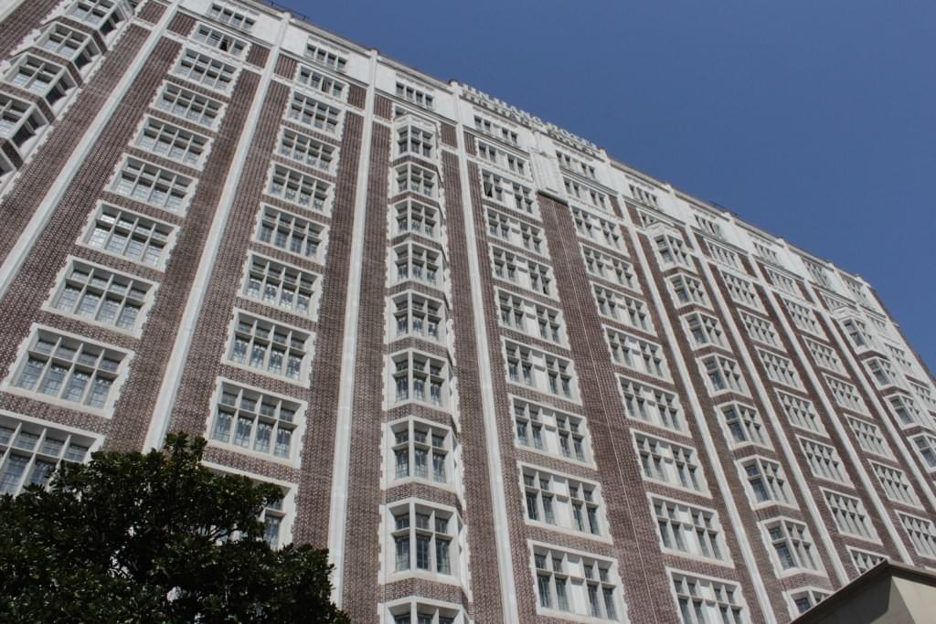 Picture source: dreamofacity.com; Cathay Mansions - today also part of Jingjiang Hotels - 59 Maoming South Road