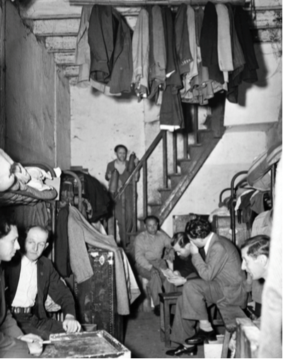 Picture source:jewishmuseum.cz; living conditions in Shanghai Ghetto