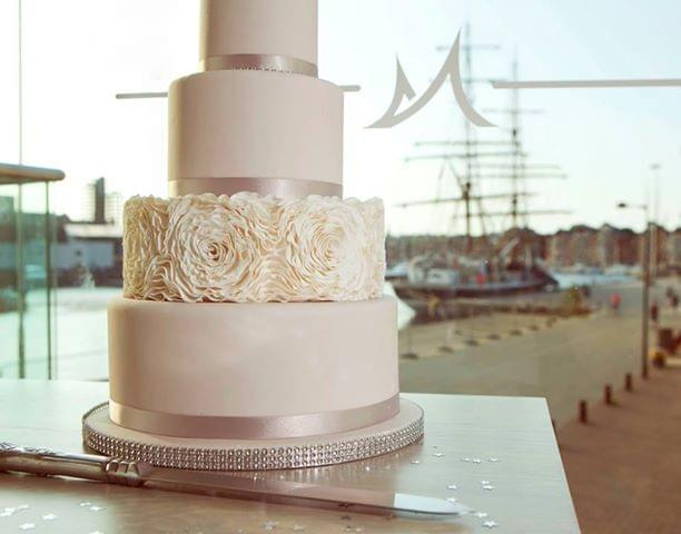 Isle of Man wedding cake