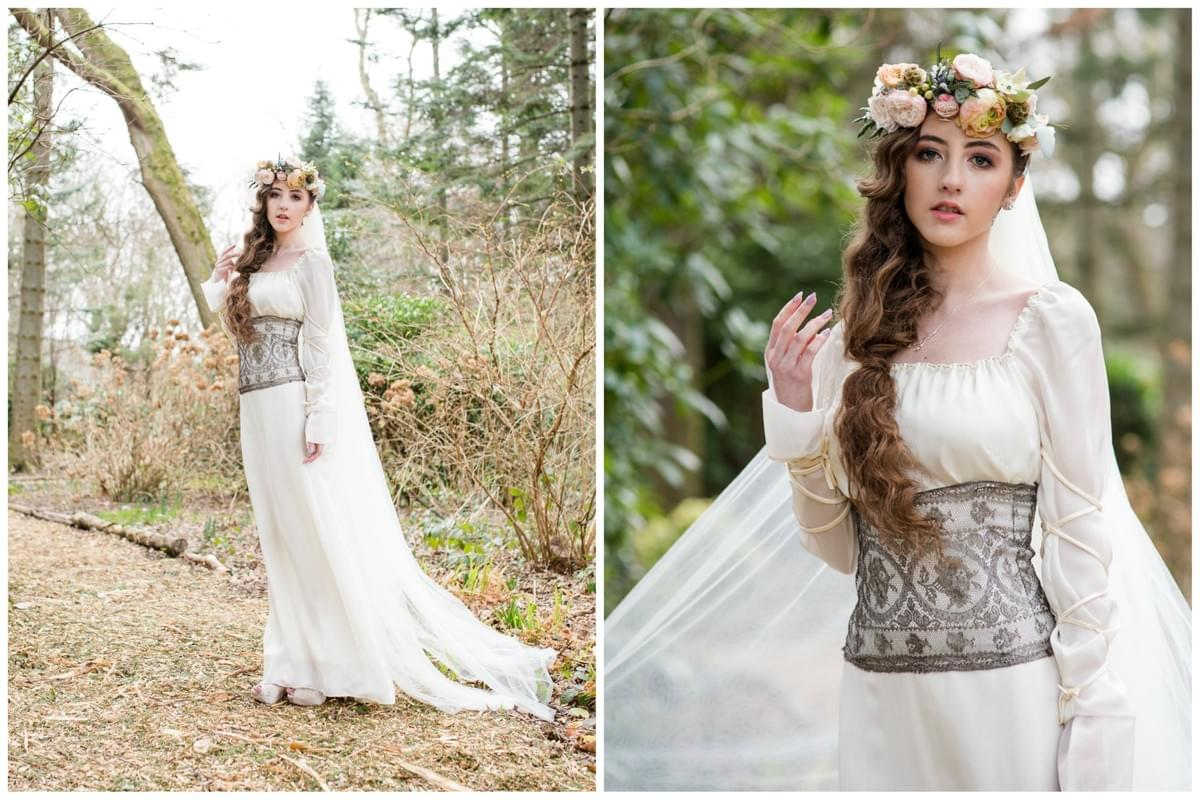 Beckii Cruel Isle of Man Woodland Wedding