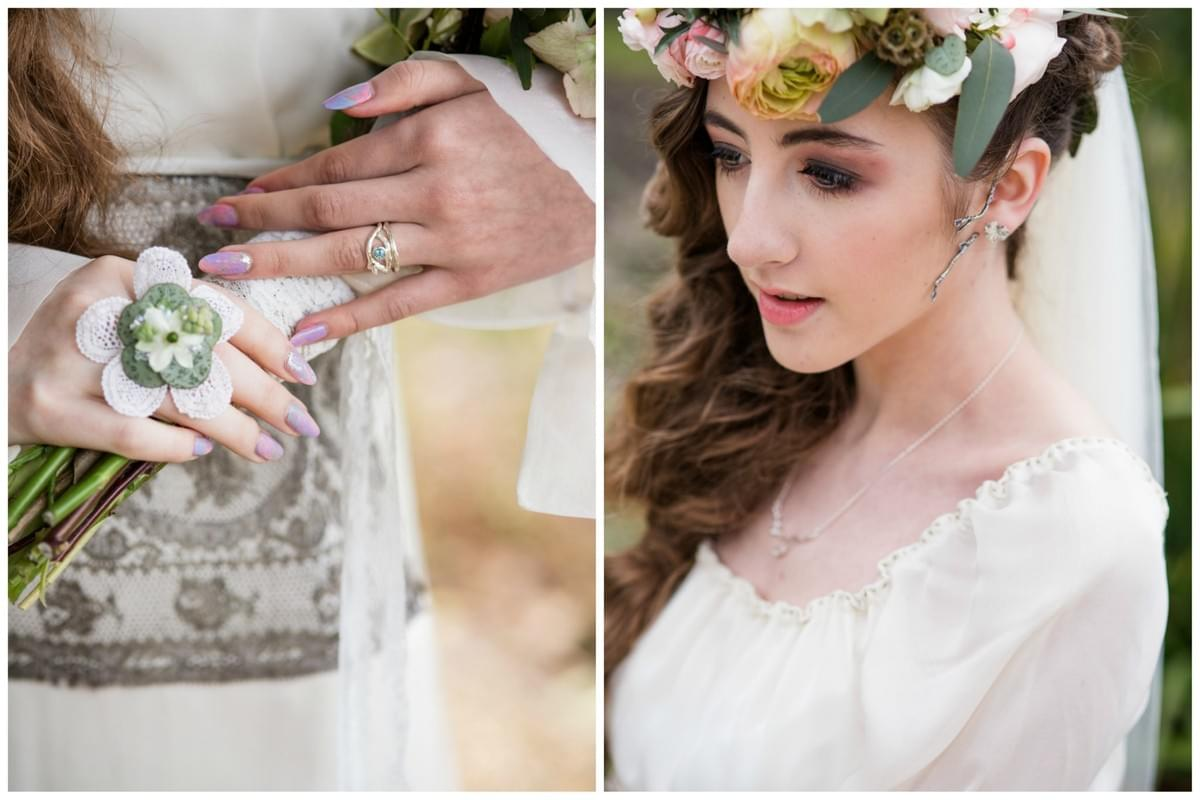 Isle of Man Woodland Wedding Jewellery