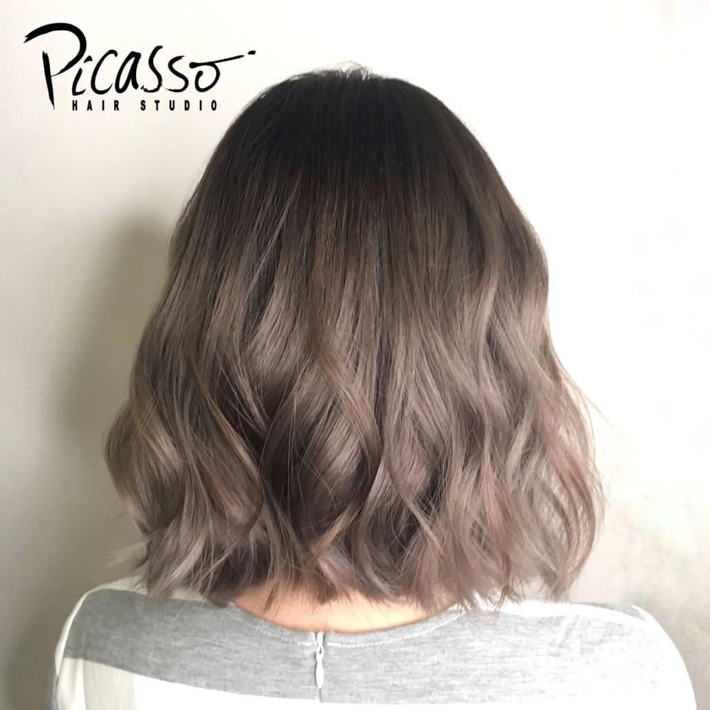 Picasso Hair Studio Perm Specialist Trendy Hair Color