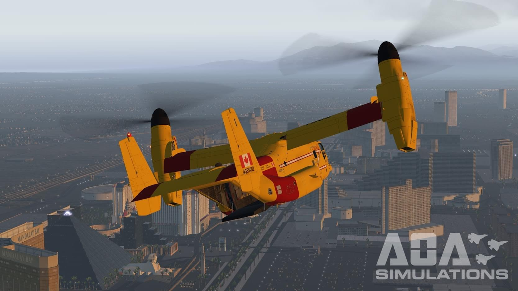 AOA Simulations on Strikingly