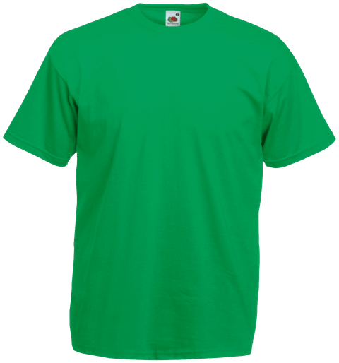 2db82c1d T Shirt Printing, T Shirt Printing Business, Fruit of the loom, T Shirt.  Fruit of The Loom Soft Premium Green