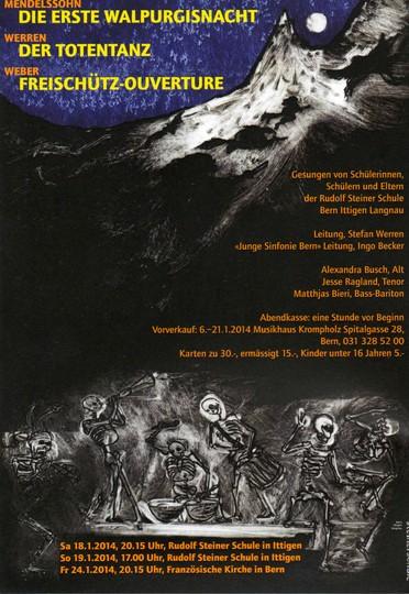 Winterkonzert 2014 der Jungen Sinfonie Bern