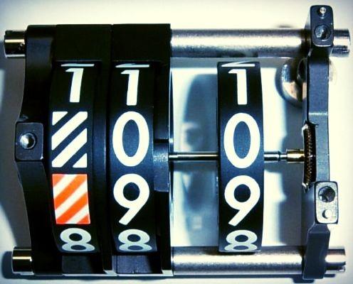 Altimetric Mechanical Counter