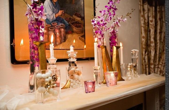 Event Design Floral Candles Decor