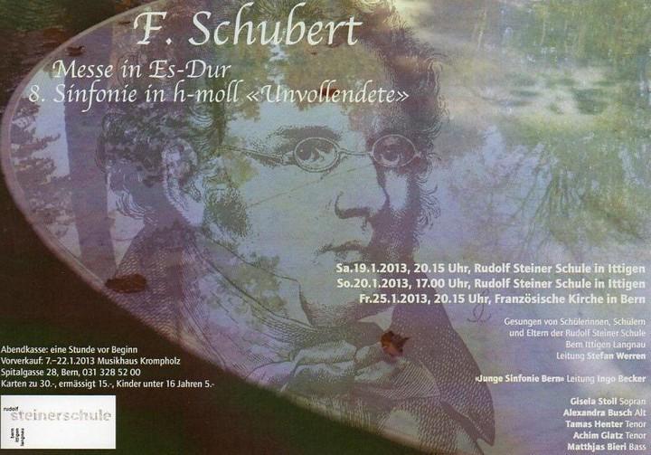 Winterkonzert 2013 der Jungen Sinfonie Bern