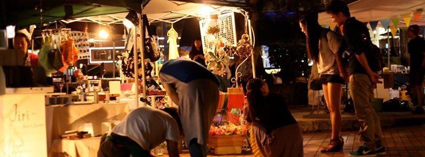 千年夜市~福博であい橋~2014.7月~8月毎週土曜日 天神名物のナイトマーケットで出店!とっても雰囲気のいいイベントを楽しませて頂きました!