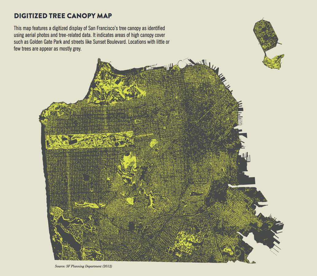 Digitized Tree Cover