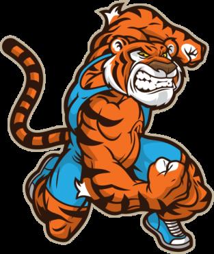 tiger wresting