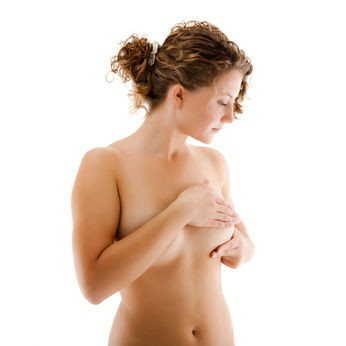 Picture Of Woman Doing Self Breast Massage