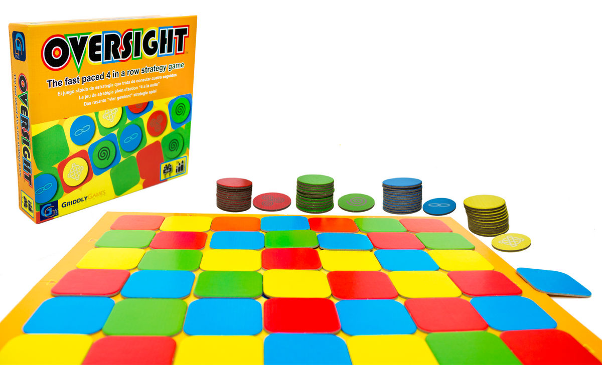Oversight Abstract Strategy Game - 4 in a row