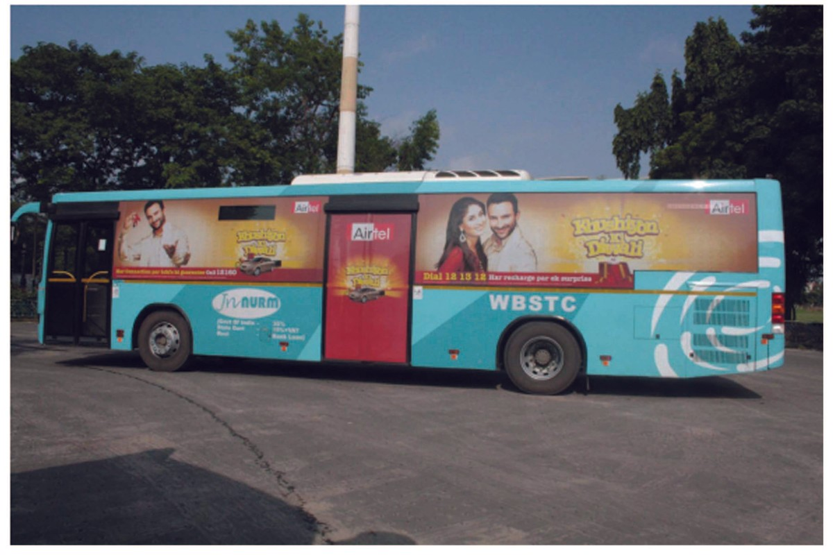 Bus Branding Across Pan India