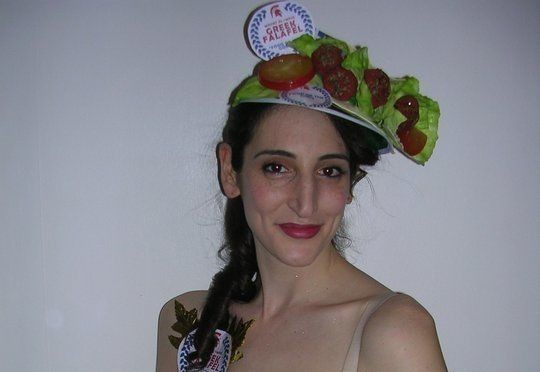 This is a falafel hat