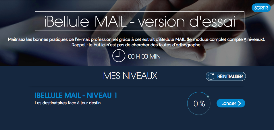 Demo iBellule Mail