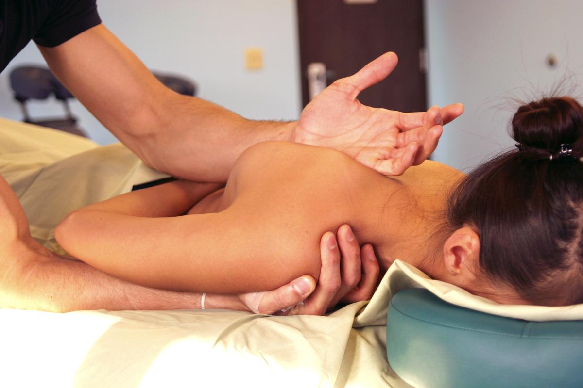 Massage Under The Scapula