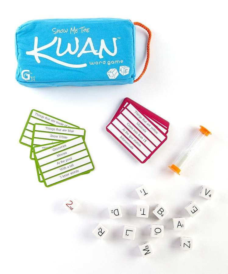 Show Me The Kwan Word Dice Game