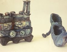 Shoe' and Rhinoseros Stilleto', 1993