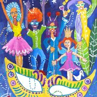 Mardi Gras Series 4 - SOLD
