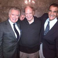 Regis Philbin, Sonny Grasso and Joey