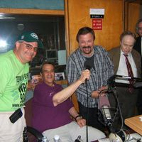 Joey w Dante Reed, Jim Petrecca, Eddie Smith and Joe Franklin