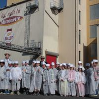 Visite du moulin par les classes de CM2