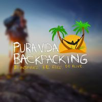 "Logo Design for ""Pura Vida Backpacking"" Lifestyle Brand"