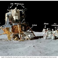 Apollo 16 Landing Site Tour Pan