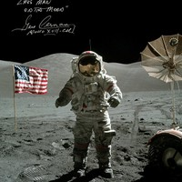 Last Man On The Moon - Gene Cernan Apollo XVII CDR