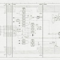 "This schematic measuring 24.5 x 10.5 inches flew on one of the key missions in Space history, the infamous Apollo 13. It was carried in the Command Module, Odyssey and detailed the Electrical Interface between Odyssey and the Lunar Module, Aquarius.  A significant Schematic as when the oxygen tank exploded in the Service Module, the Command module started to lose power, so the crew had to use the Lunar Module as a lifeboat, whilst saving as much power as possible in the Command Module  The Schematic has been signed and inscribed ""Flown to the Moon Aboard Apollo 13 - Fred Haise LMP"" and ""James Lovell - CDR Apollo 13""."