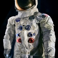 This spacesuit was worn by astronaut Neil Armstrong, Commander of the Apollo 11 mission, which landed the first man on the Moon on July 20, 1969.  The lunar spacesuits were designed to provide a life sustaining environment for the astronaut during periods of extra vehicular activity or during unpressurized spacecraft operation. They permitted maximum mobility and were designed to be worn with relative comfort for up to 115 hours in conjunction with the liquid cooling garment. If necessary, they were also capable of being worn for 14 days in an unpressurized mode.  The spacesuit has the designation A-7L, and was constructed in the Extra-vehicular or EV configuration.  NASA transferred the spacesuit to the National Air and Space Museum in 1971.  Transferred from NASA