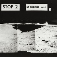"US$ 1,500 APOLLO 15 AND EXPLORATION AT ITS GREATEST AN UNEARTHLY VIEW OF HADLEY RILLE  Large black and white photograph, 20 x 24 inches. Captions along upper top reads: ""STOP 2, St. GEORGE, no. 1."" Large photographs of this type were created just after to flight to assist with the geologic investigation of Hadley Rille.   Astronauts Scott and Irwin employed the first use of the Lunar Roving Vehicle to travel over 2 miles from the Lunar Module to traverse site 2, near both Hadley Rille and St. George Crater. This panoramic image features 5 overlapping Hasselblad photographs looking north into Hadley Rille with a partial view of Mount Hadley to the right."
