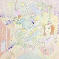 夏を思い出す  I remember the summer  60cm×60cm