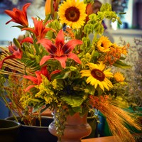 Autumnal Arrangement - $125 as pictured