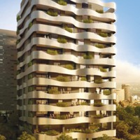 Dorrat Loubnan - A luxurious 11 floors residential building with 25 apartments and 8 floors office building with 6 basements.Located in Achrafieh Lebanon.