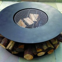 Fire Pit Features - BBQ Grill