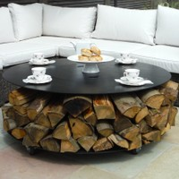 Fire Pit Features - Cream Tea