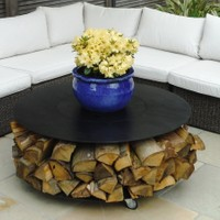 Fire Pit Features - Garden Features