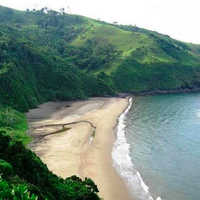 Playa Escondida is the northernmost beach in the municipio (county) of Catemaco, Veracruz. The beach has been  described as the most beautiful beach between the Yucatan and Florida.