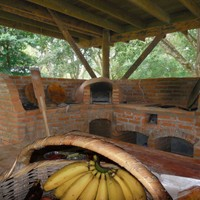 The bread and pizza oven, the hybrid gas-wood stove