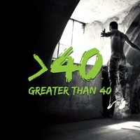 "Logo Design for ""Greater Than 40"" Fitness Brand"
