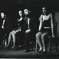 The Sideshow, with Billy Sy, Anneliese Mackintosh, and Rebecca Donovan.  Directed by Oliver Hymans.  Produced by Liat Rosenthal.  The New Theatre, 2003.