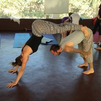 Acro yoga Goa India