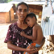 Becoming Family: Sri Lanka Mother and Son