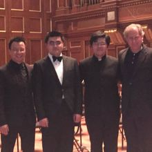 Mark Tse at the NEC Symphonic Winds concert - February 24, 2015